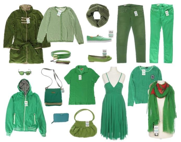 Mode in der Pantone Farbe des Jahres 2017