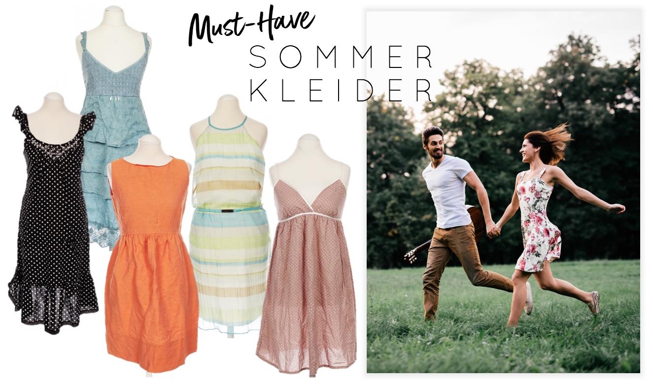 Sommerkleider für das erste Date
