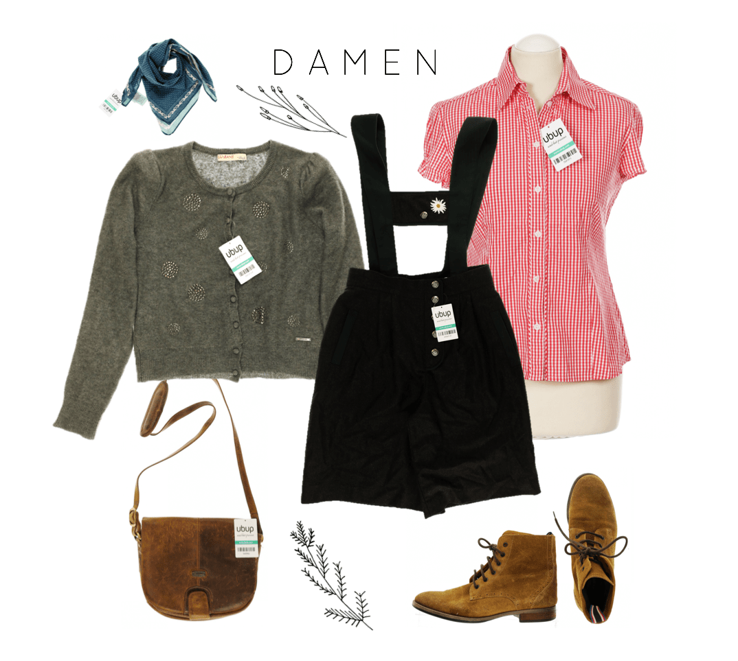 Oktoberfest-Outfit Get the Look Damen