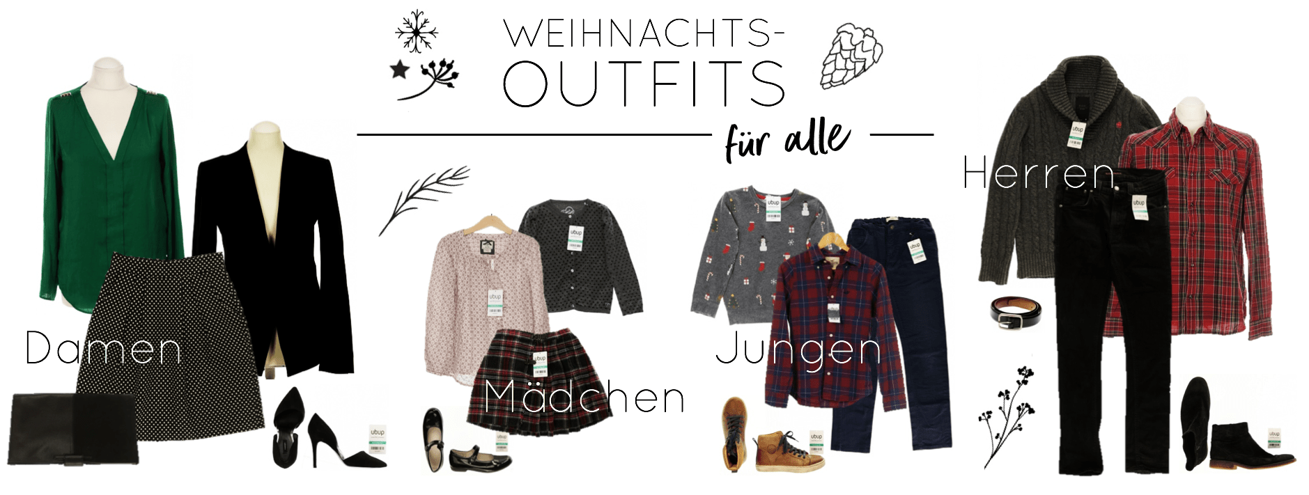Weihnachtsoutfit - Get the Look