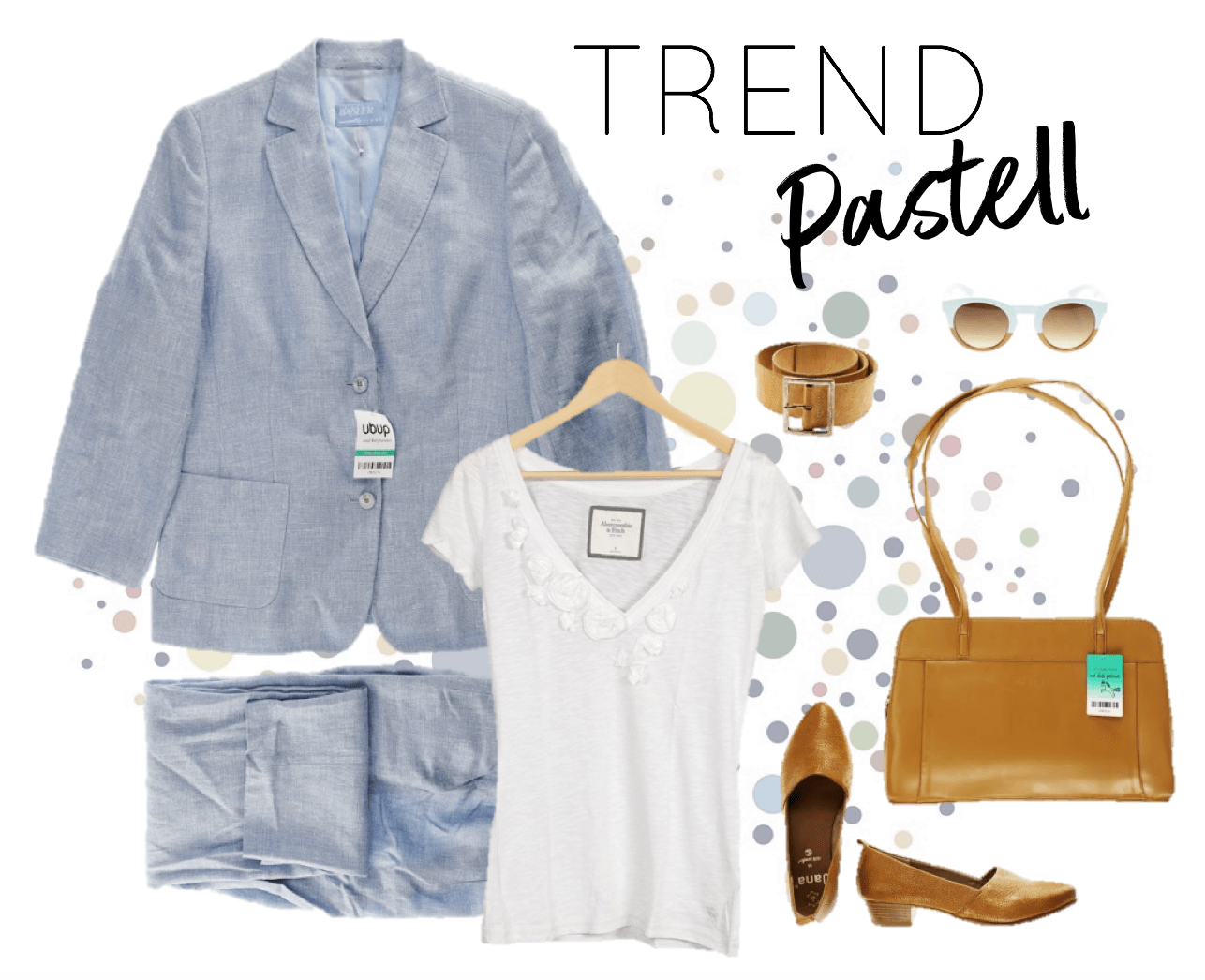 Oster-Outfit Pastell