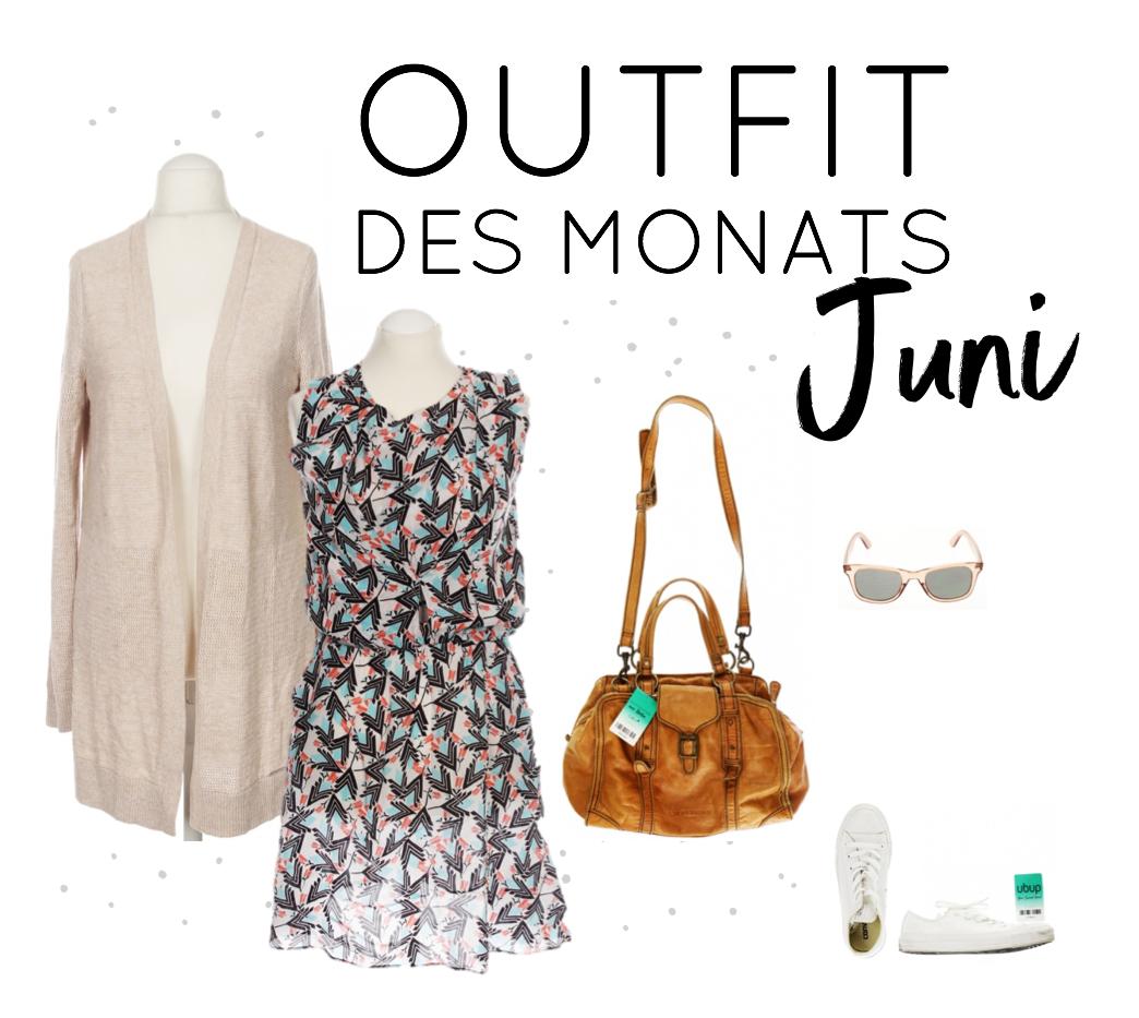 Second Hand Outfit des Monats Juni 2018