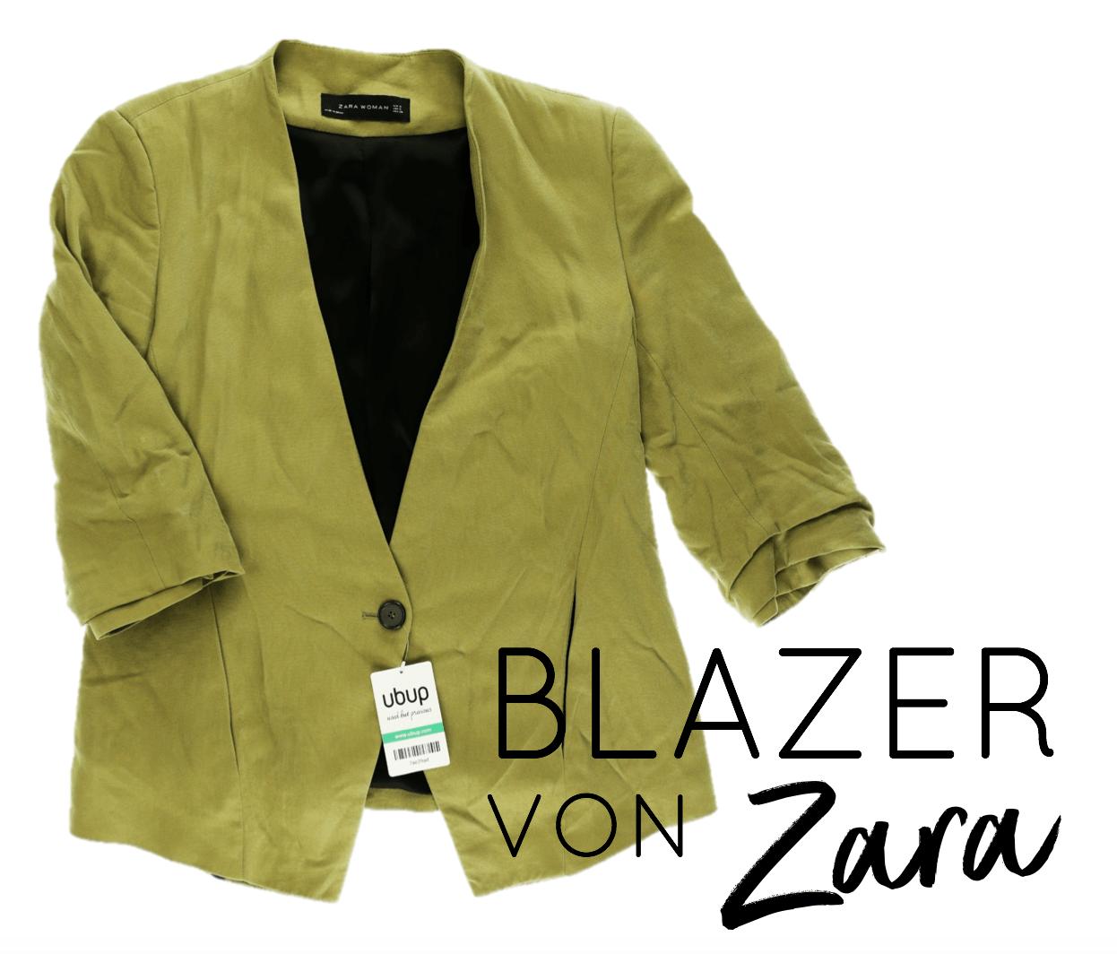 Second Hand Outfit des Monats Mai 2018 - Blazer