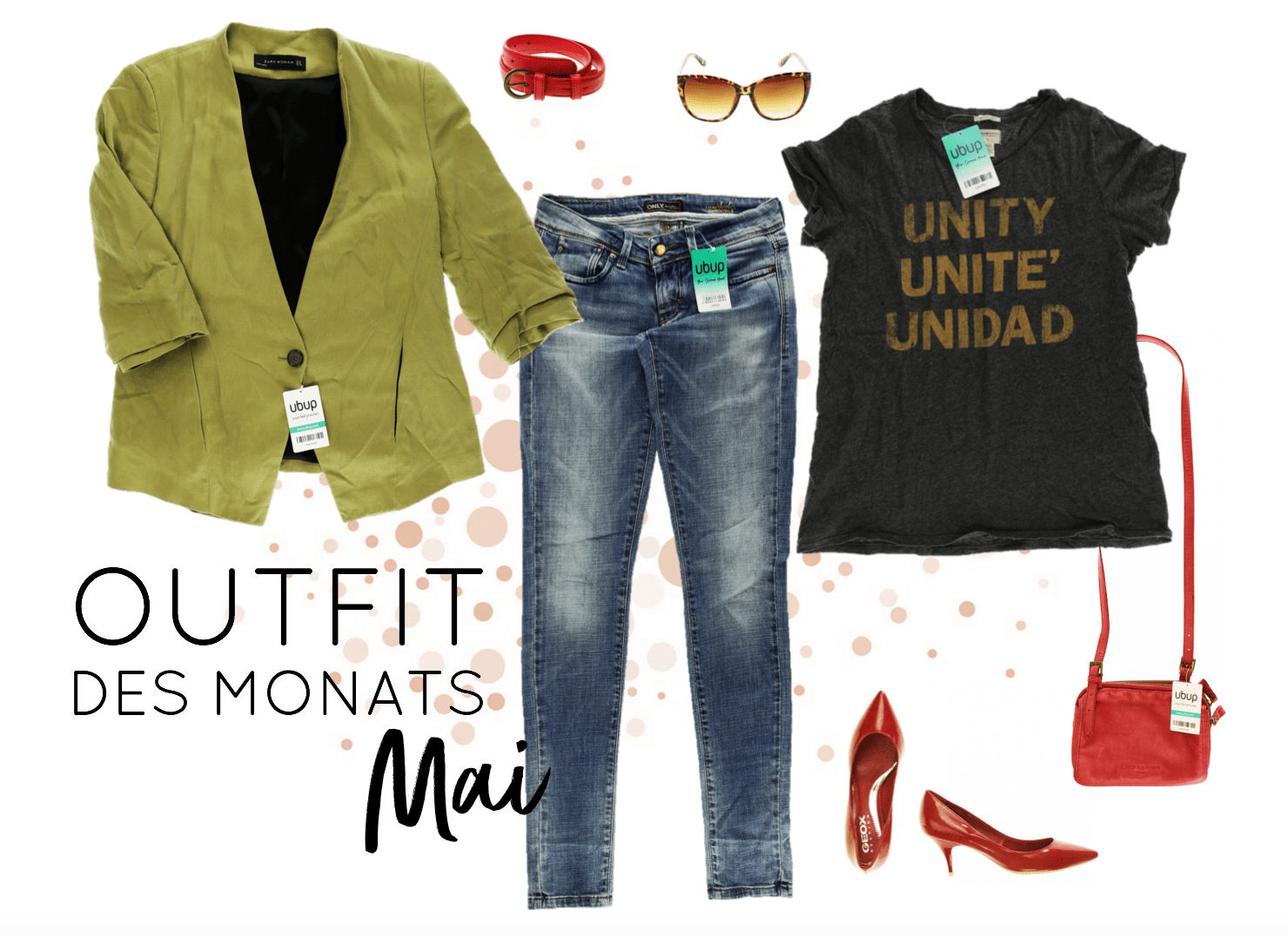 Second Hand Outfit des Monats Mai 2018 - Look