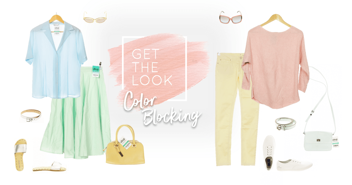 Color Blocking - Get the Look