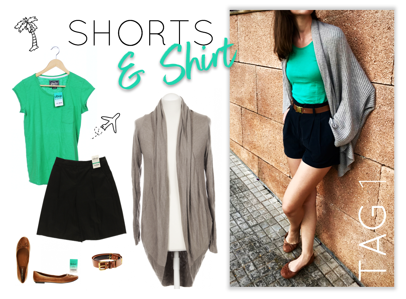 Urlaubs-Outfits Tag 1