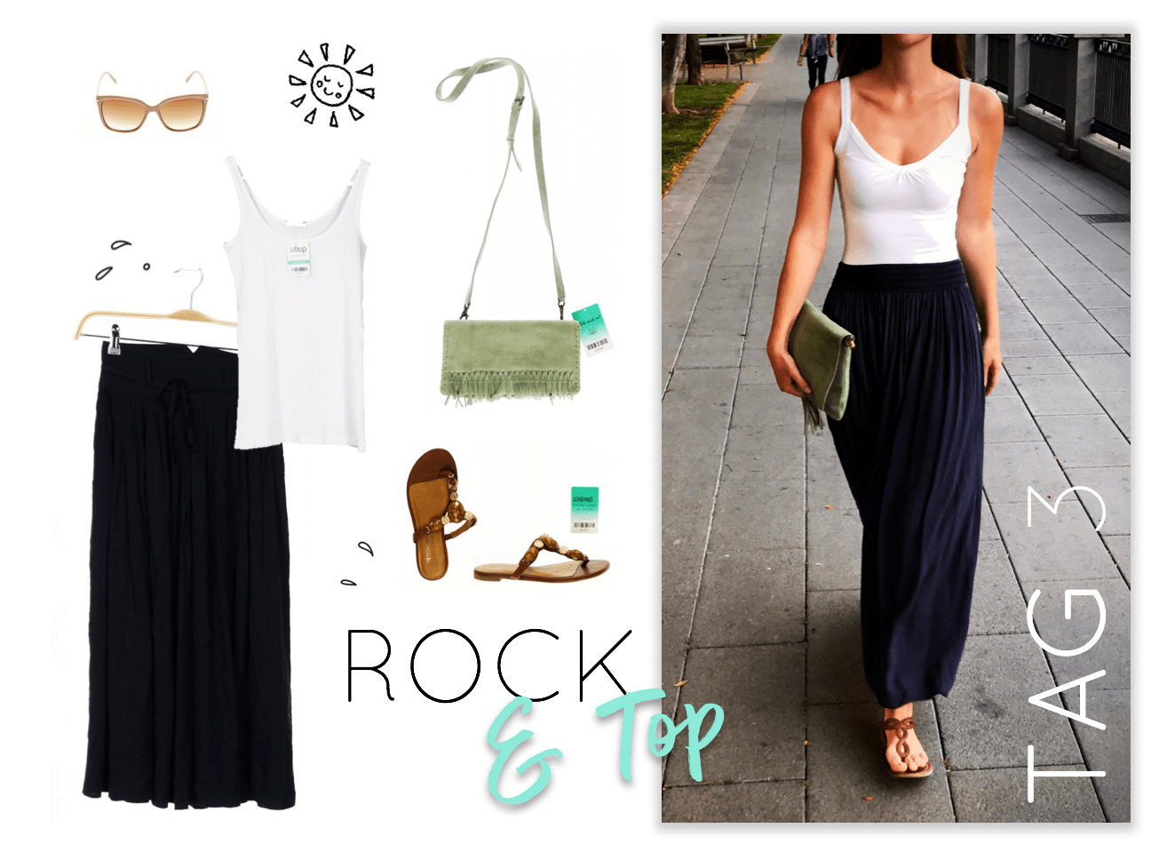 Urlaubs-Outfits Tag 3