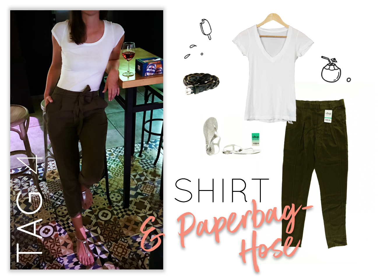 Urlaubs-Outfits Tag 4