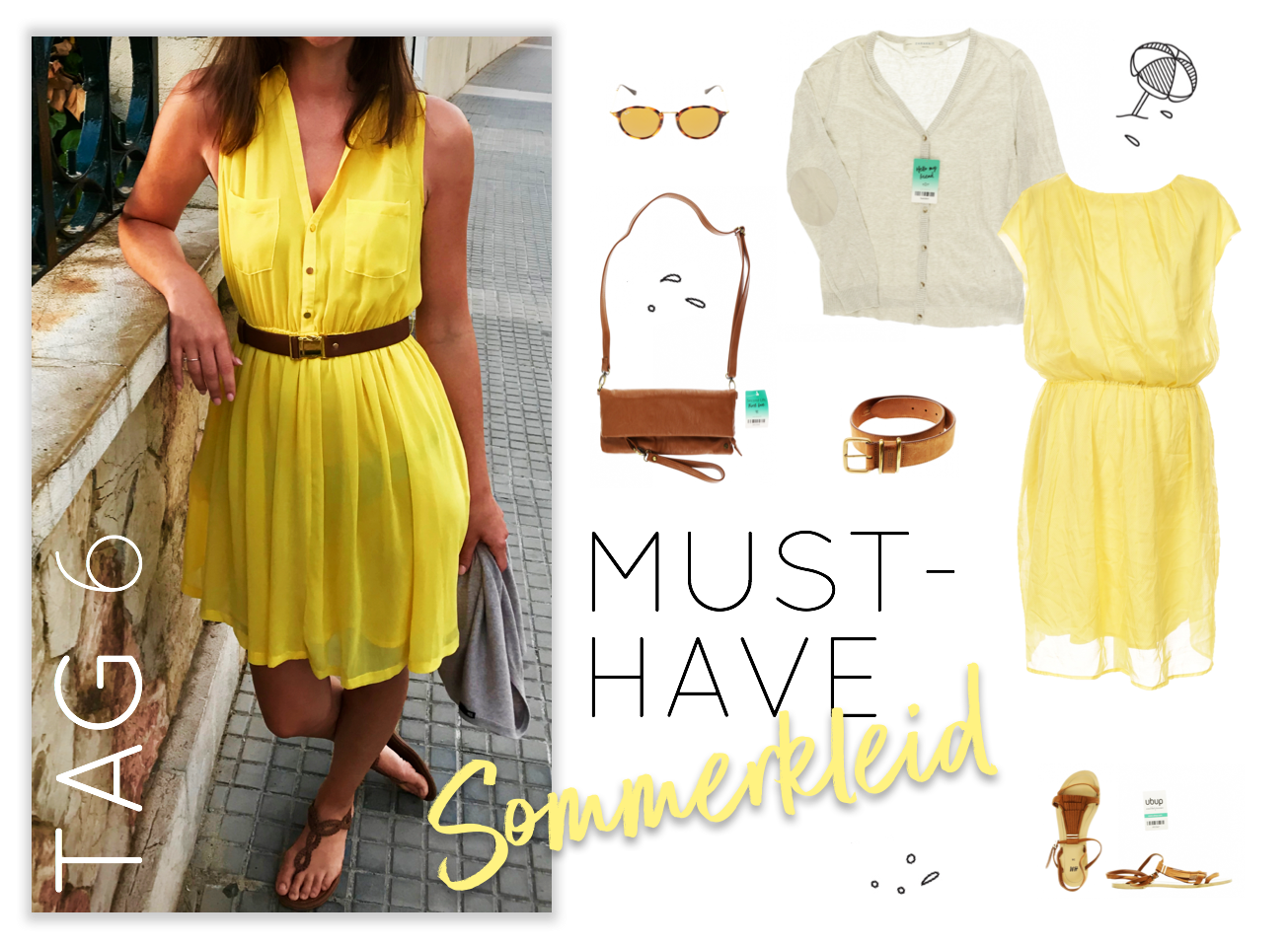 Urlaubs-Outfits Tag 6