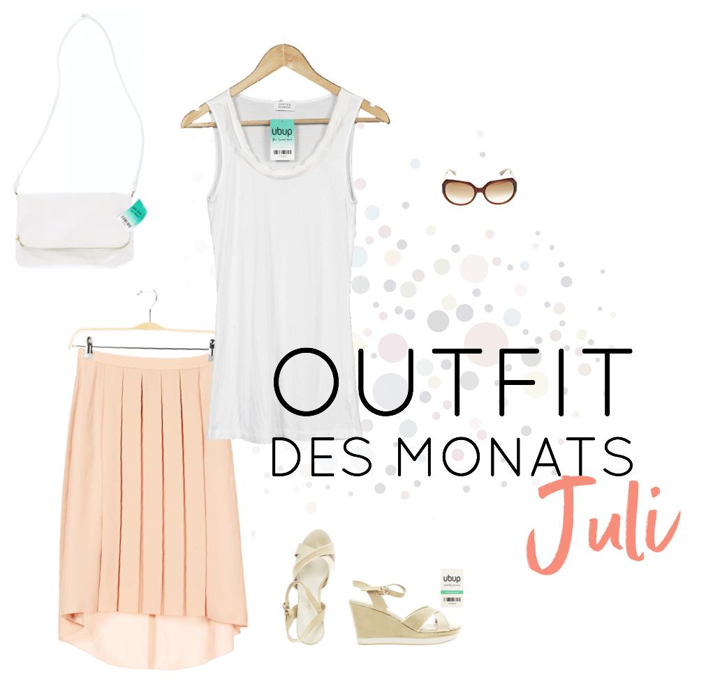 Second Hand Outfit des Monats Juli 2018 - Look