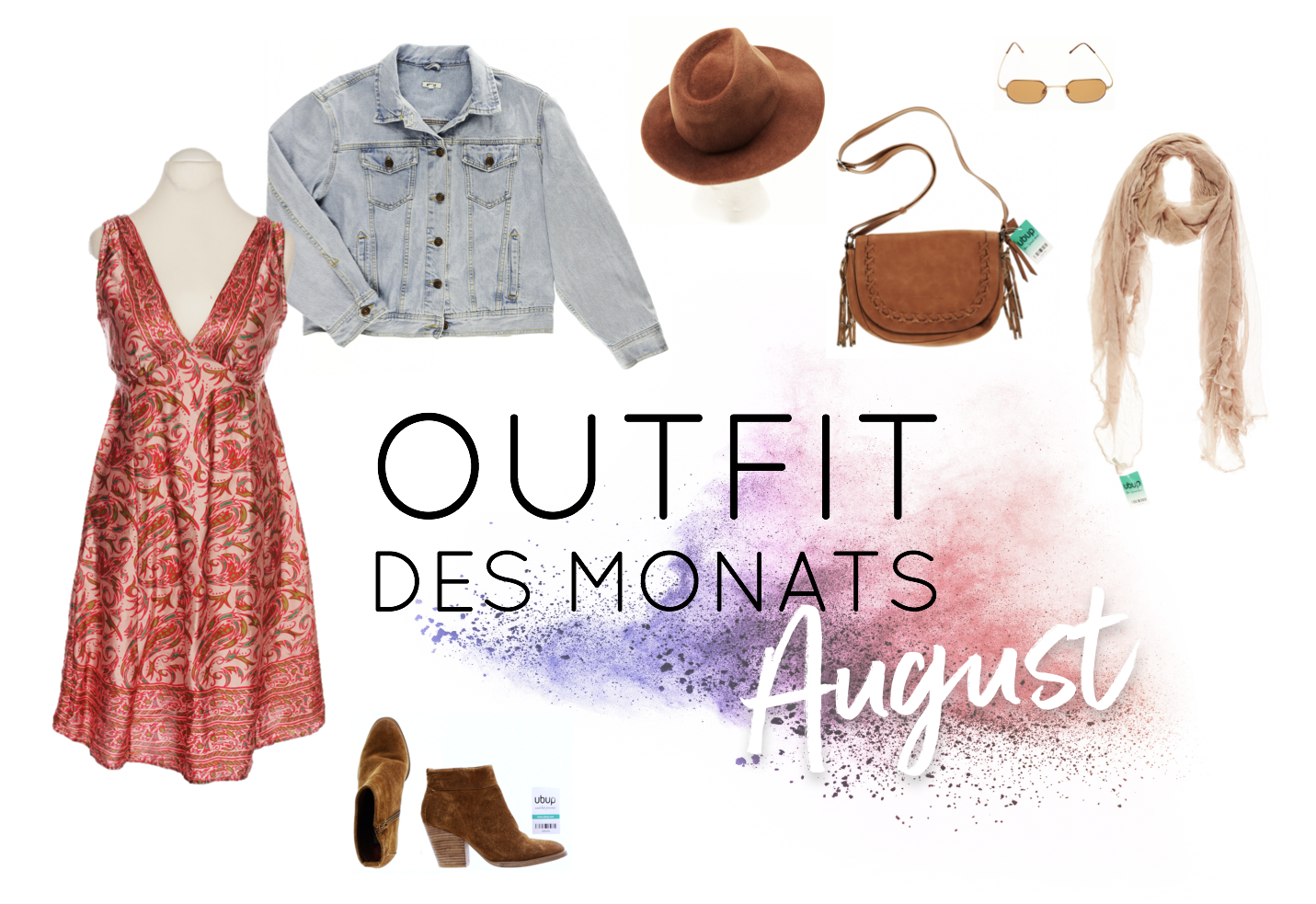 Second Hand Outfits des Monats August 2018