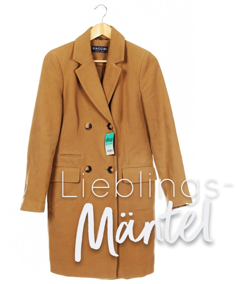 Second Hand Outfit des Monats Oktober 2018 - Lieblingsmäntel