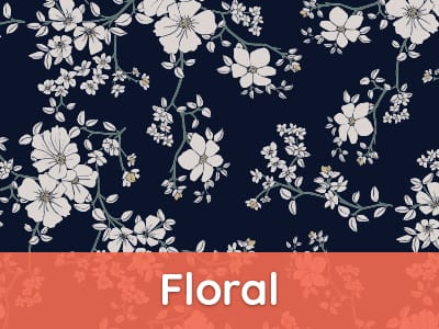 ubup Muster-Filter Floral