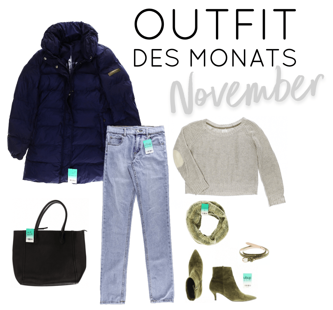 Second Hand Outfit des Monats November 2018 - Look
