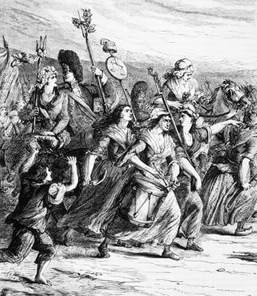 Die Französische Revolution legte den Grundstein für neue modische Ausdrucksformen.