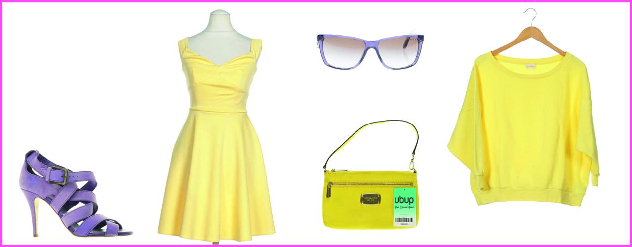 Mode in der Gute-Laune-Farbe Gelb