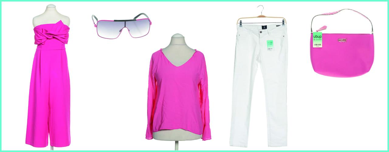 Mode in Pink hebt im Nu die Stimmung