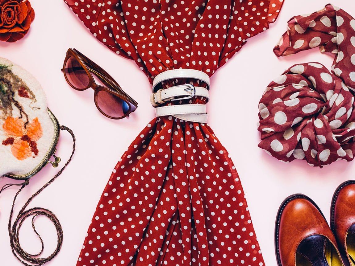 Polka Dots sind der Modetrend der Saison