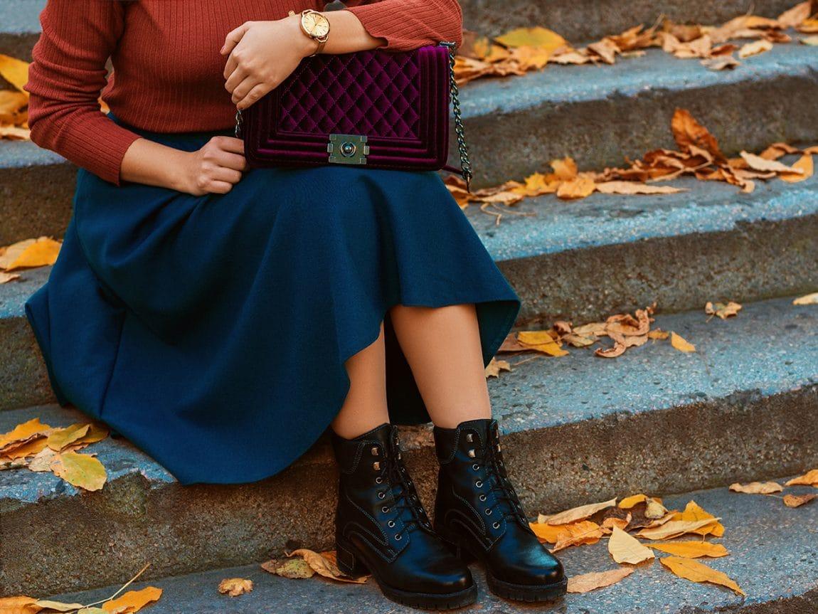 So kombiniert man die schönsten Herbstfarben miteinander