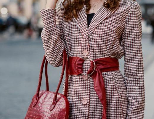 Taillengürtel sind das schönste Accessoire fürs Herbstoutfit