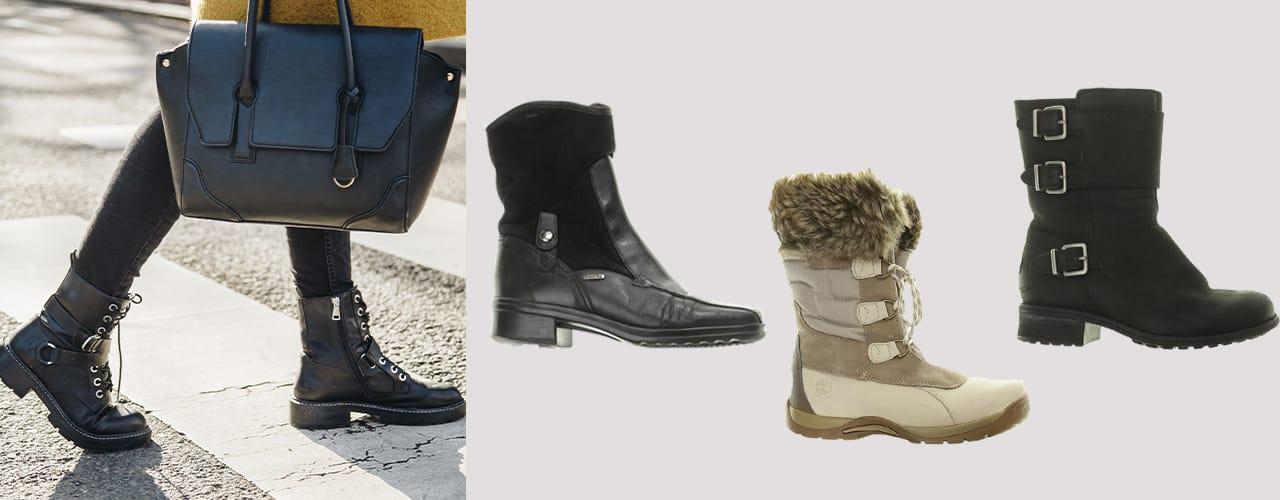 Festes Schuhwerk ist in Herbst und Winter essentiell.