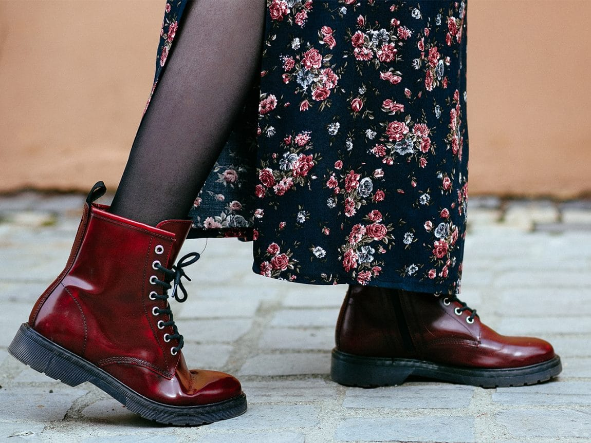 So stylst du derbe Boots feminin.