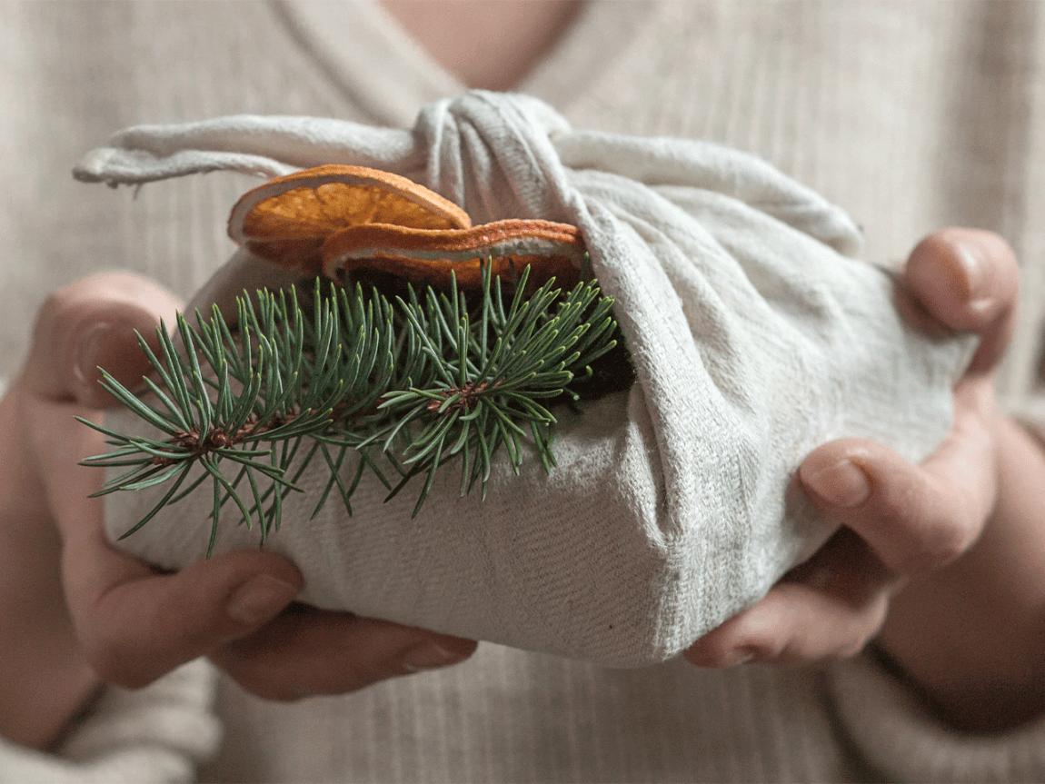 Nachhaltige Weihnachtsgeschenke.